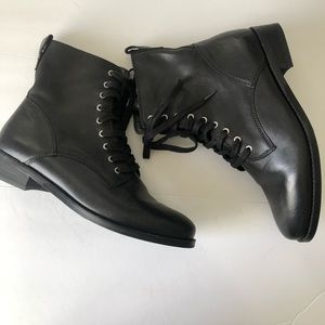 Lucky brand moto booties